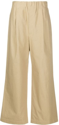 Jejia Pleated Flared Trousers