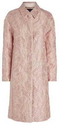 Talbot Runhof Cubelle Jacquard Coat