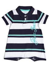 GUESS Short-Sleeve Romper (0-24M)