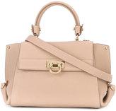 Salvatore Ferragamo structured satchel bag