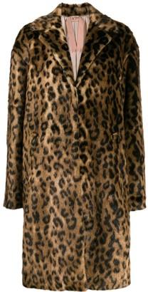 No.21 Leopard Print Coat