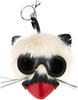 Stella McCartney punk mouse keychain - women - Modacrylic/Polyester - One Size