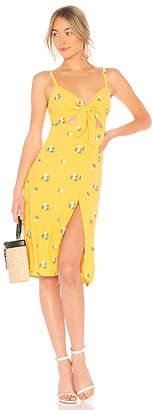 Privacy Please Nora Embroidered Midi Dress