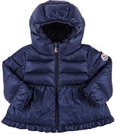 Moncler Down-Quilted Hooded Coat-NAVY