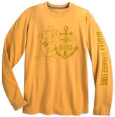 Disney Donald Duck Long Sleeve Tee for Adults Cruise Line 2017