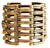 Oscar de la Renta Wide Openwork Hinge Bracelet