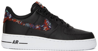 Nike Black Floral Air Force 1 07 Sneakers