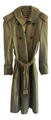 Aquascutum London Khaki Polyester Coats