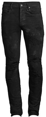Purple Brand Stretch Destroyed Slim-Fit Jeans