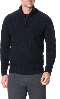 Rodd & Gunn Charlestown Quarter Zip Sweater