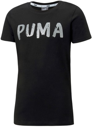 Puma Cotton T-Shirt, 8-16 Years