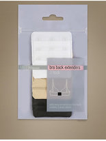 M&S Collection 3 Pack 3 Hook Bra Extenders
