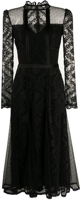 Temperley London Lace Panel Dress