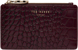 Ted Baker Rullia Croc Embossed Leather Wallet