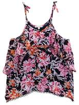 Ella Moss Ashley Printed Chiffon Tank (Big Girls)