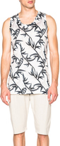 Marc Jacobs Shadow Leaf Jersey Oversize Tank
