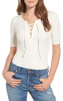 Madewell Women's Lace-Up Bodysuit