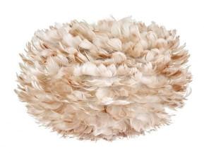 EOS UMAGE - Medium Light Brown Feather Pendant Shade - Brown