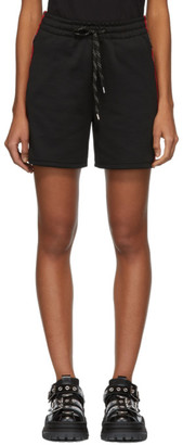 McQ Black Racer Shorts
