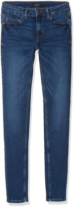 Pieces Women's Pcfive Betty DNM F112 Mw Skn Mb/noos Skinny Jeans