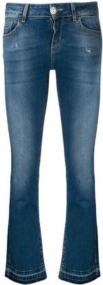Liu Jo Mid-Rise Flared Jeans