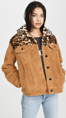 Jocelyn Camel Teddy Jacket