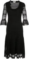 Alexander McQueen Lace Knitted Dress