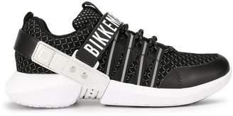Dirk Bikkembergs logo touch-strap sneakers