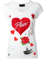 Philipp Plein Balinay Prussian T-shirt