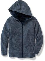 Old Navy Sherpa-Lined Fleece Hoodie for Boys