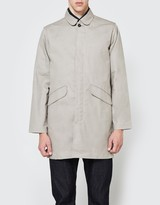 Rogue Territory Trench Coat Light Grey Canvas