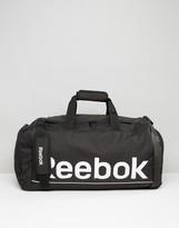 Reebok Medium Carryall Bag In Black S23037