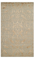 Safavieh Couture Tibetan Hand-Knotted Silk and Wool Rug