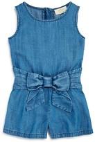 Kate Spade Girls' Chambray Romper - Sizes 7-14