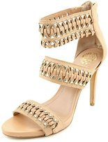 Vince Camuto Fancle Women US 7.5 Nude Sandals EU 37.5