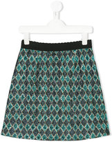 Dolce & Gabbana jacquard skirt - kids - Polyester/Viscose - 10 yrs