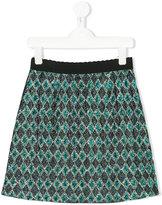 Dolce & Gabbana jacquard skirt - kids - Polyester/Viscose - 8 yrs