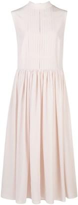 Adam Lippes Sleeveless Silk Dress