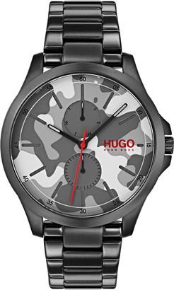 HUGO BOSS Men's Jump Camo Bracelet Watch, 41mm
