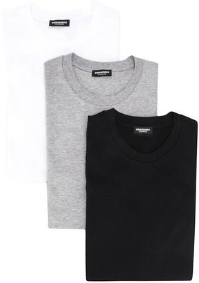 DSQUARED2 logo crew-neck T-shirts