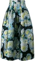 ADAM by Adam Lippes full floral skirt - women - Silk/Polyester - 2