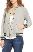 Cupcakes And Cashmere Women's Carlton Cotton Varsity Jacket