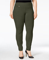 Alfani Plus Size Modern Skinny Pull-On Pants, Created for Macy's