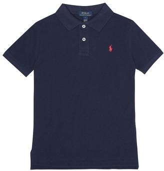 Polo Ralph Lauren Kids Logo cotton-pique polo shirt