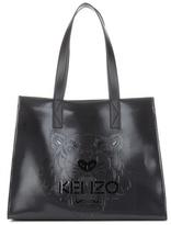 Kenzo Tiger embossed tote bag