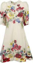 Celine Flower Print Dress
