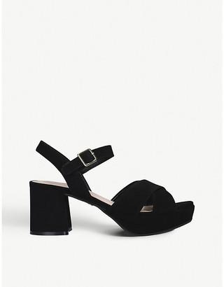 Carvela Lemonade faux-leather heeled sandals