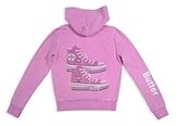 Butter Shoes Girls' Mineral-Wash Embellished Hoodie - Big Kid