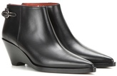 Acne Studios Carrie Leather Ankle Boots