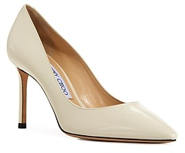 Jimmy Choo Women's Romy 85 High Heel Embossed Pumps